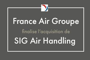 Le Groupe France Air finalise l'acquisition de SIG Air Handling